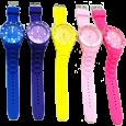 6-馬卡龍矽膠錶 (1a)