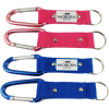 Carabiner key ring with printed full colour domed decal (1)