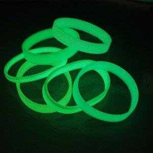 夜光矽膠手環 (2)