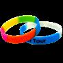 多色矽膠手環2