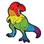 恐龍造型刺繡