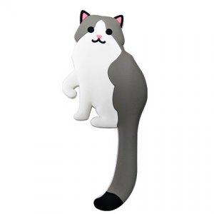 貓咪型軟膠掛鉤