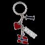 連串鑰匙圈掛飾吊飾 (2)