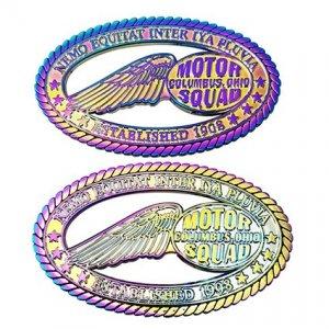彩虹電鍍徽章製作
