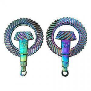 七彩電鍍鑰匙圈